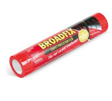 Broadfix Professional Carpet Protection Film Red 600mm x 25m